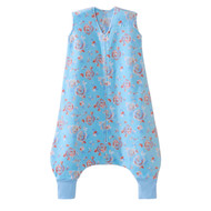 HALO® SleepSack® early walker Micro-Fleece  |  Aqua Floral