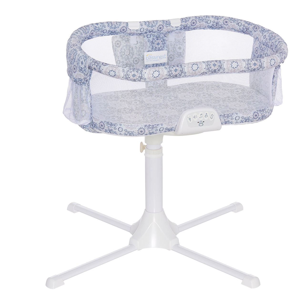 halo bassinest swivel sleeper bedside bassinet for baby