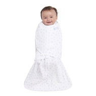 HALO® SleepSack® Swaddle Platinum 100% Cotton  |  Pale Blue Twinkle