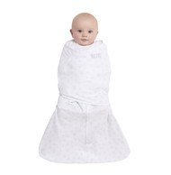 HALO® SleepSack® Swaddle Platinum 100% Cotton  |  Grey Twinkle