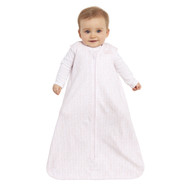 HALO® SleepSack® wearable blanket platinum 100% Cotton  | Blush Chevron