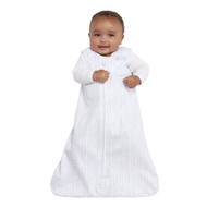 HALO® SleepSack® wearable blanket platinum 100% Cotton  | Pale Blue Chevron