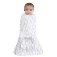 HALO® SleepSack® swaddle 100% Cotton  |  Feather Aloe