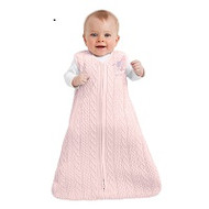 HALO® SleepSack® wearable blanket Cotton Sweater Knit |  Pink