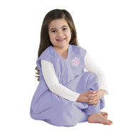 HALO® SleepSack® big kids Micro-fleece  | Lilac Snowflake