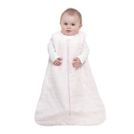 HALO® SleepSack® wearable blanket platinum quilted muslin  | Rose Sketch Pyramid