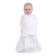 HALO® SleepSack® swaddle 100% Cotton  | Pin Dot Pink