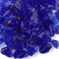Cobalt Blue Fireplace Pit Glass