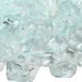 Aqua Fireplace Pit Glass