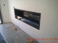 Single Sided Fireplace 1800mm x 550mm x 300mm deep