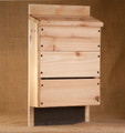 Dad's Three Chambered Bat house, no finish, Cedar