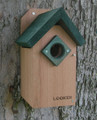 Green Roof Bluebird House- approved by the North American Bluebird Society.