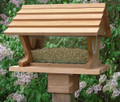 Belle Vista Large Capacity Wooden Bird Feeder