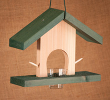 Cedar Oriole Jelly and Orange Feeder