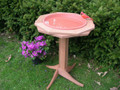 Deluxe Double-Ring Classic Bird Bath