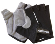 Andevan unisex fingerless/ half finger glove w/ foam pad for hunting,cycling,fishing-CG001