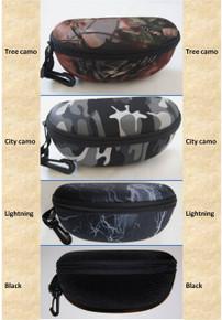 Protective Eyeglasses/Sunglasses Case w/Clip& Belt Loop 9034 Large