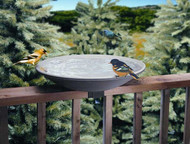Allied Precision  20in Birdbath With EZ-Tilt-To-Clean Deck Mount (Model 645)