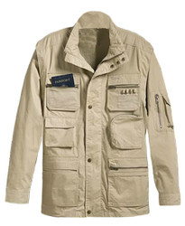 Correspondent Convertible Travel Jacket by Weekender - Khaki