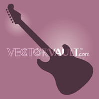 image free vector logo graphic electric guitar
