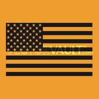 image free vector black america flag