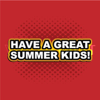 Buy Vector have a great summer kids Image free vectors - Vectorvault