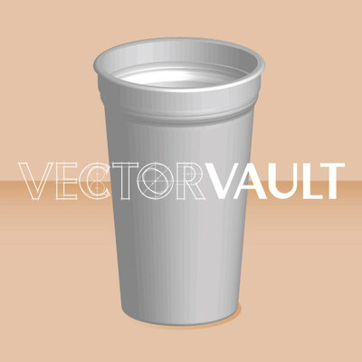 Buy Vector paper cup logo graphic Image search find buy free vectors - Vectorvault