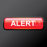 Buy Vector red alert glossy button logo graphic Image search find buy free vectors - Vectorvault