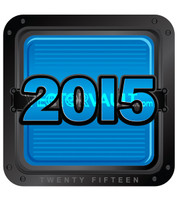 2015 two thousand and fifteen vector logo lockup full