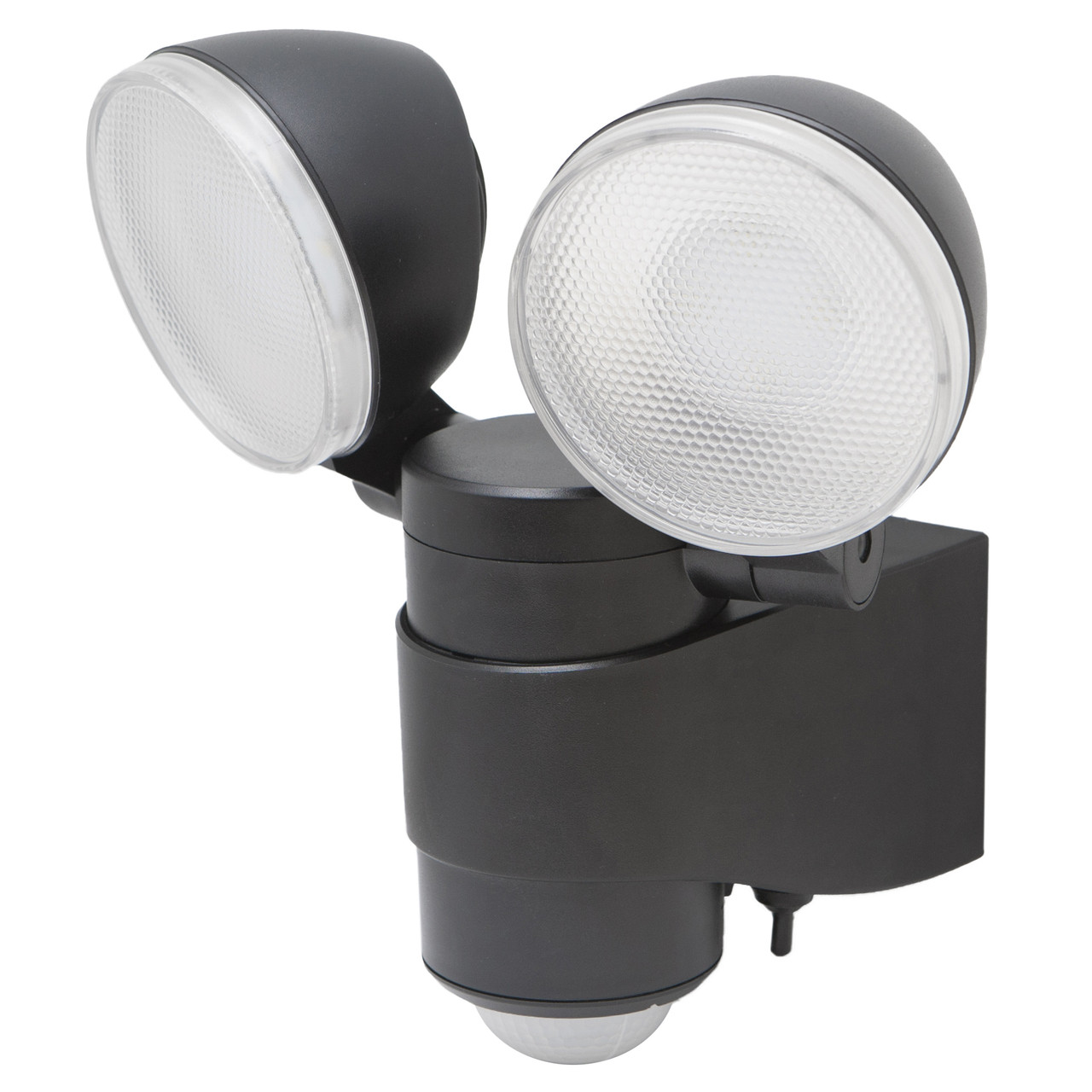 Perfect Battery Powered Motion Activated Dual Head LED Security Spotlight