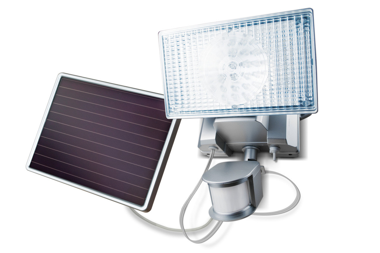 Solar Outside Security Lights Part - 33: Solar-Powered Motion-Activated 150 LED Security Floodlight