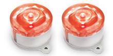 Red Solar Marker Lights - 2 pack
