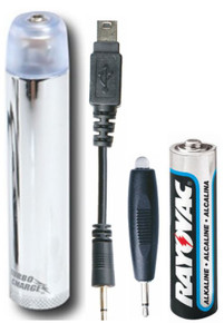Turbo Charge with Micro-USB and Flashlight