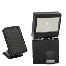 Solar-Powered LED Security Spotlight