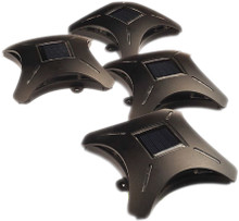 Ninja Stars™ - Solar LED Deck Accent Lighting