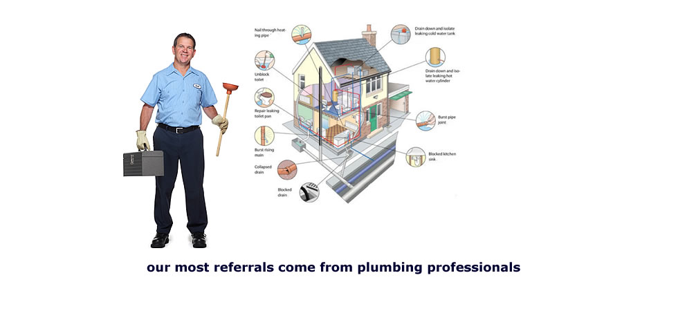 Most referrals for Bio-Clean come from plumbers