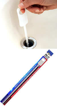 Zipit drain tool for physically removal of drain debris