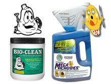 BIO-CLEAN 2-lb Jar COMBO with MegaMicrobes Liquid