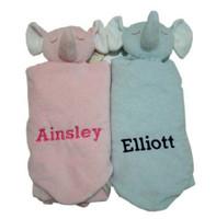Twin Gifts - Angel Dear Elephant Security Blankets