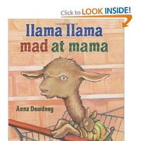 Children's Book - Llama, Llama Mad At Mama