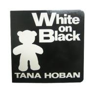 Baby Book   White on Black
