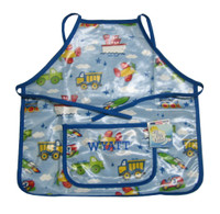 Kids Apron| Personalized Transportation Apron