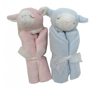 Angel Dear Blankie -Pink or Blue  Lamb