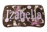 Personalized Baby Wipe Case - Zen Rose