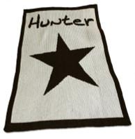 Cashmere Butterscotch Blankee   Star