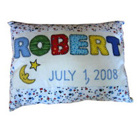 Personalized Baby Pillow - Up to Six Letters