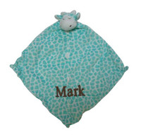 Angel Dear Security Blankee - Turquoise Giraffe