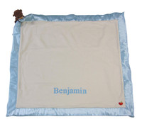 Organic Cubby  Baby Blanket -  Personalized Apple Park Baby Gift