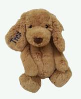 Personalized bashful toffee jellycat puppy