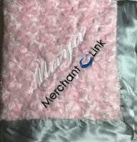 Corporate baby blanket